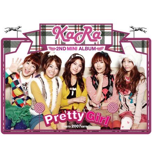 카라 - Pretty Girl (2nd Mini Album) 앨범이미지