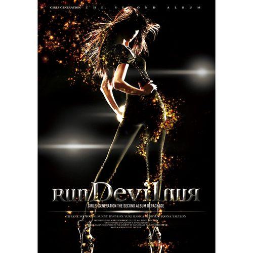 소녀시대 (GIRLS` GENERATION) - `Run Devil Run` The 2nd Album (Repackage) 앨범이미지