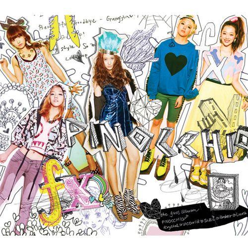 `피노키오` f(x) The 1st Album 앨범이미지