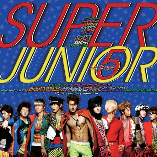 SUPER JUNIOR (슈퍼주니어) - `Mr. Simple` The 5th Album 앨범이미지