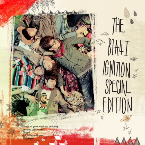 B1A4 - THE B1A4Ⅰ`IGNITION` SPECIAL EDITION 앨범이미지