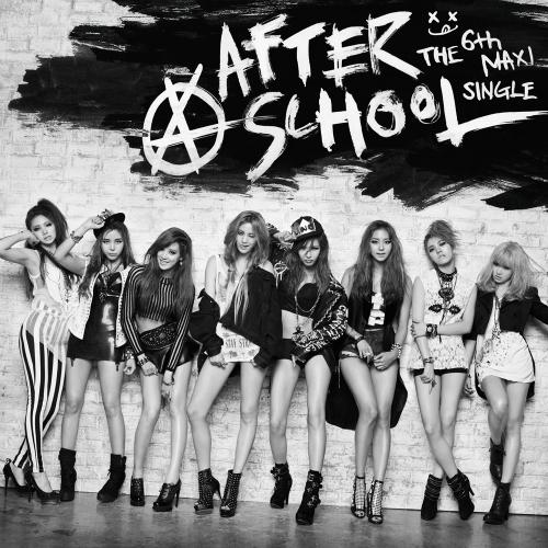 애프터스쿨 - After School The 6th Maxi Single `첫사랑` 앨범이미지