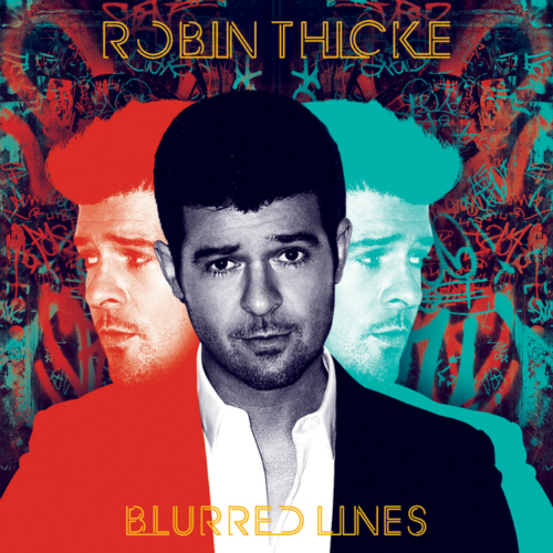 Robin Thicke - Blurred Lines 앨범이미지
