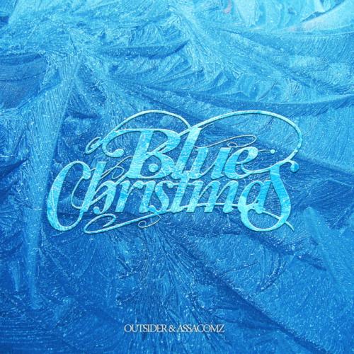 아웃사이더 - 블루 크리스마스 (Blue Christmas) 앨범이미지