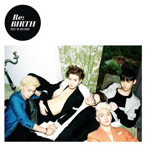NU`EST The First Album `Re:BIRTH` 앨범이미지