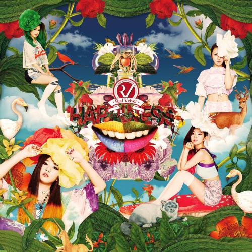 Red Velvet (레드벨벳) - The 1st Single `행복 (Happiness)` 앨범이미지