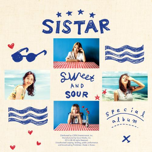 씨스타 - Special Album `SWEET & SOUR` 앨범이미지