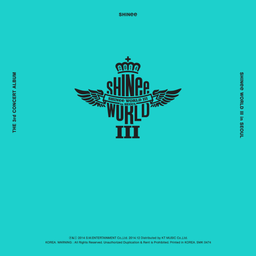 SHINee (샤이니) - The 3rd Concert Album `SHINee WORLD III in SEOUL` 앨범이미지