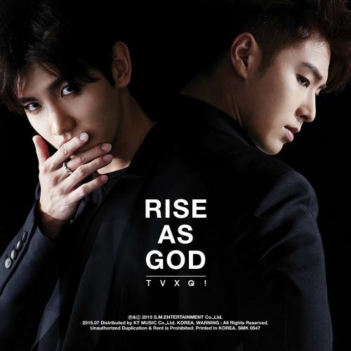 동방신기 (TVXQ!) - RISE AS GOD - TVXQ! SPECIAL ALBUM 앨범이미지