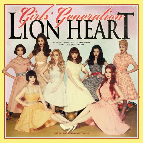 소녀시대 (GIRLS` GENERATION) - Lion Heart - The 5th Album 앨범이미지