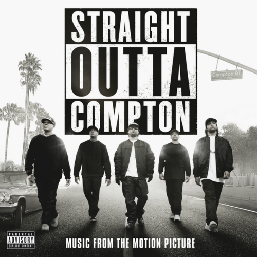 N.W.A. - Straight Outta Compton (Music From The Motion Picture) 앨범이미지