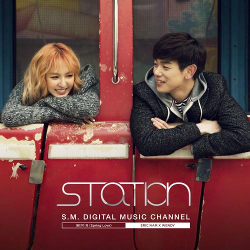 에릭남 (Eric Nam) - 봄인가 봐 (Spring Love) - SM STATION 앨범이미지