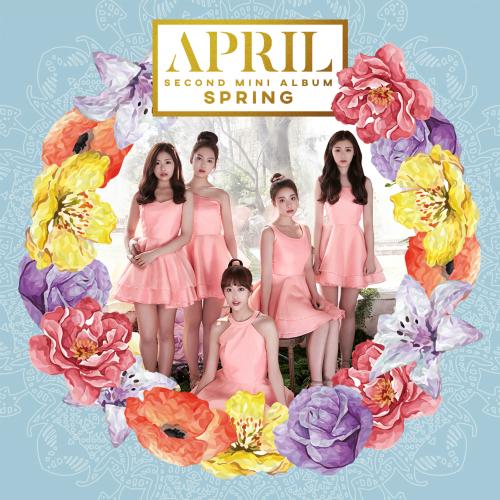 에이프릴(APRIL) 2nd Mini Album `Spring` 앨범이미지