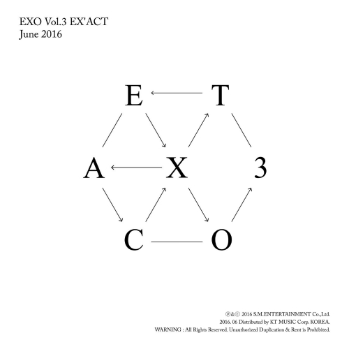 EXO - EX`ACT - The 3rd Album 앨범이미지