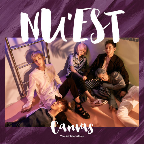 NU`EST - The 5th Mini Album `CANVAS` 앨범이미지
