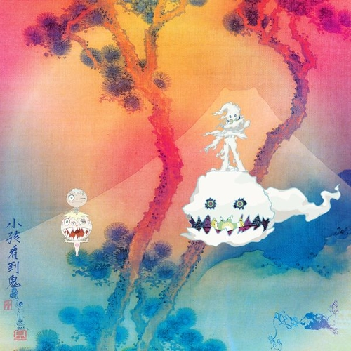 KIDS SEE GHOSTS - KIDS SEE GHOSTS 앨범이미지