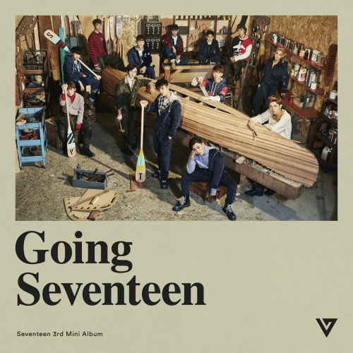 Seventeen 3rd Mini Album `Going Seventeen` 앨범이미지