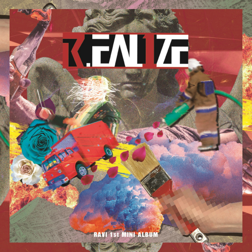 RAVI 1st MINI ALBUM [R.EAL1ZE] 앨범이미지