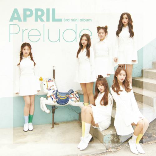 에이프릴 (APRIL) - 에이프릴(APRIL) 3rd Mini Album `Prelude` 앨범이미지