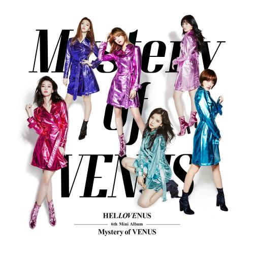헬로비너스 - HELLOVENUS 6th Mini Album Mystery of VENUS 앨범이미지