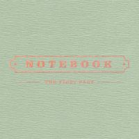 박경 1st MINI ALBUM `NOTEBOOK` 앨범이미지