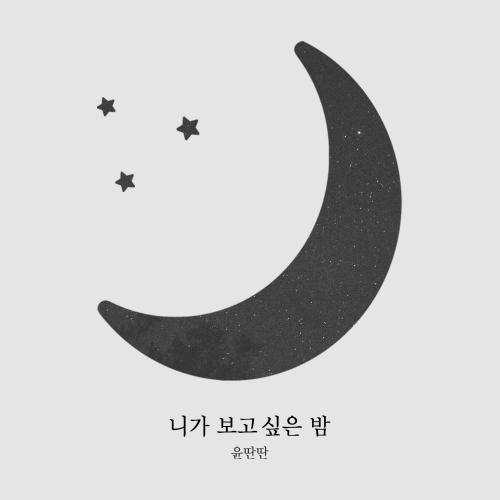 윤딴딴 - 니가 보고싶은 밤 앨범이미지