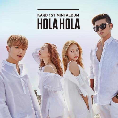 카드 (KARD) - KARD 1st Mini Album `Hola Hola` 앨범이미지