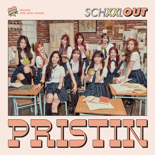 PRISTIN (프리스틴) - The 2nd Mini Album `SCHXXL OUT` 앨범이미지