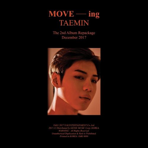 태민 (TAEMIN) - MOVE-ing - The 2nd Album Repackage 앨범이미지