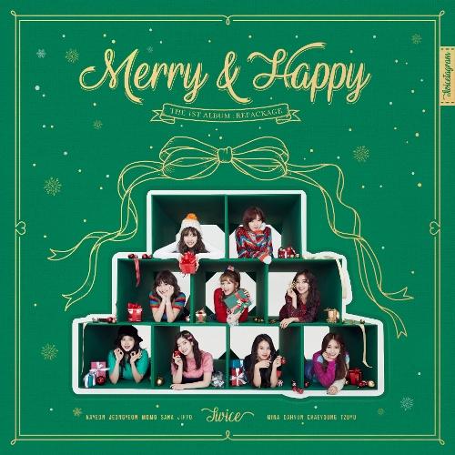 TWICE (트와이스) - Merry & Happy 앨범이미지