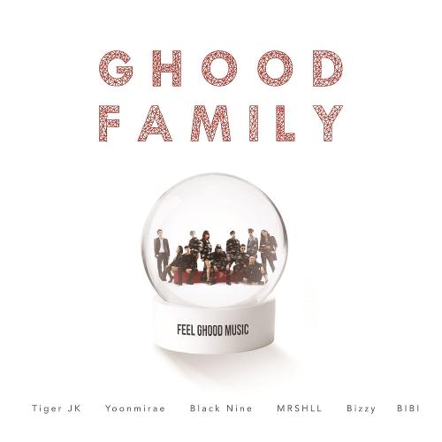 타이거JK - Ghood Family (Feat. 비지, 블랙나인, 비비, MRSHLL (마샬)) 앨범이미지