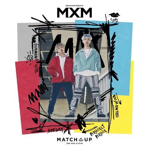 MXM(BRANDNEWBOYS) - 2ND MINI ALBUM [MATCH UP] 앨범이미지