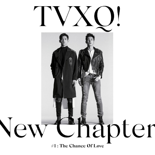 동방신기 (TVXQ!) - New Chapter #1 : The Chance of Love - The 8th Album 앨범이미지
