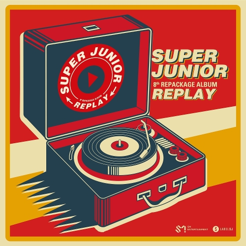 SUPER JUNIOR (슈퍼주니어) - REPLAY - The 8th Repackage Album 앨범이미지