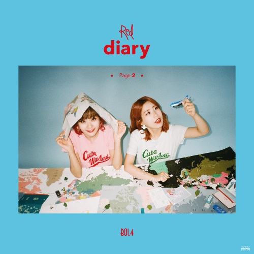 Red Diary Page.2 앨범이미지