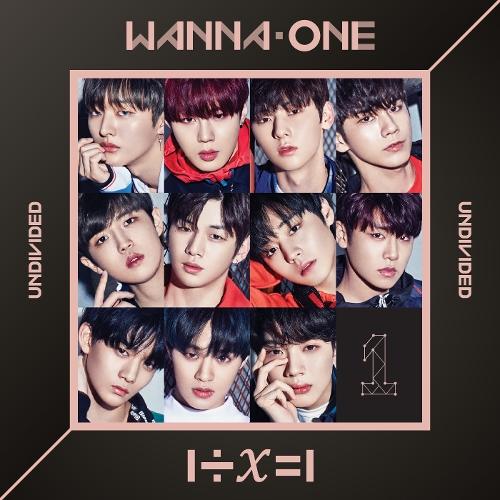 Wanna One (워너원) - 1÷χ=1 (UNDIVIDED) 앨범이미지