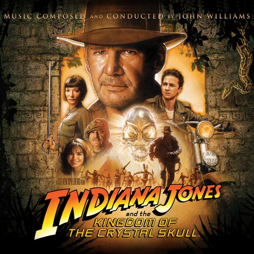 John Williams - Indiana Jones and the Kingdom of the Crystal Skull (Original Motion Picture Soundtrack) 앨범이미지