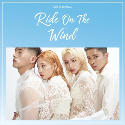 카드 (KARD) - KARD 3rd Mini Album `RIDE ON THE WIND` 앨범이미지