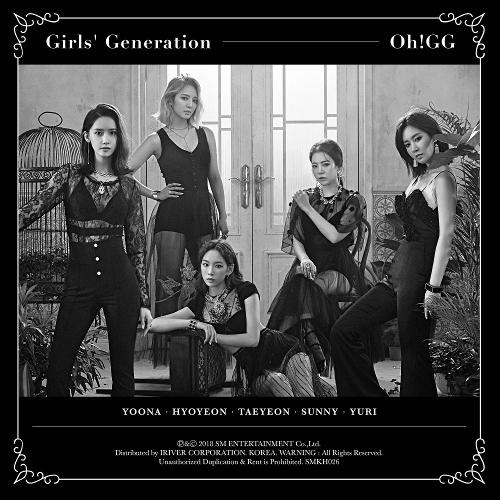 소녀시대-Oh!GG - 몰랐니 - The 1st Single Album 앨범이미지