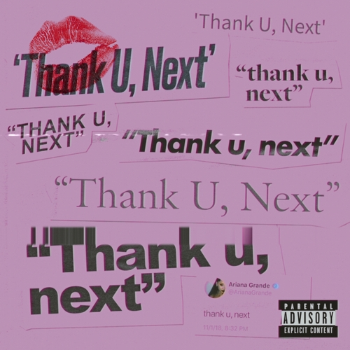 Ariana Grande - thank u, next 앨범이미지
