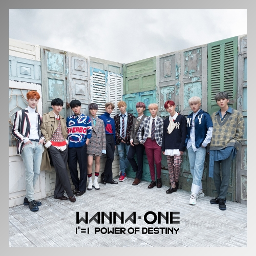 Wanna One (워너원) - 1¹¹=1 (POWER OF DESTINY) 앨범이미지